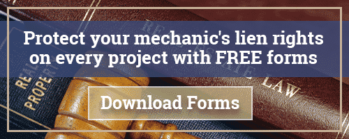 Learn about Mechanic's Liens