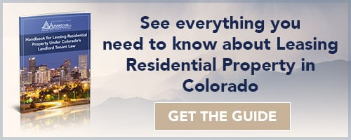 Leasing Residential Property in Colorado